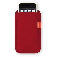 Freiwild Sleeve classic für iPhone 4 /  4S, rot