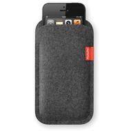 Freiwild Sleeve classic für iPhone 5, grau-meliert
