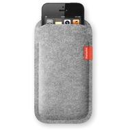Freiwild Sleeve classic für iPhone 5, hellgrau-meliert