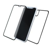 Cyoo Front & Back 5D Glas Displayschutz /  Displayschutzfolie für Apple iPhone 11 Pro /  XS /  X Schwarz