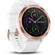 Garmin vivoactive 3 GPS-Smartwatch weiß/ rosegold