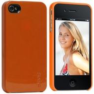 Gecko Profile für iPhone 4, metallic-orange