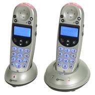 geemarc AmpliDECT 250 Twin schnurloses Verstärkertelefon mit zusätzlichem Mobilteil