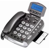 geemarc CL330 Verstärkertelefon mit Hoch-/ Tieftonregelung und Sprachansage, anthrazit