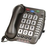 geemarc CL100 anthrazit Verstärkertelefon mit Hoch-/ Tieftonregelung