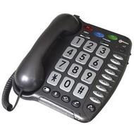 geemarc CL200+ anthrazit Verstärkertelefon mit Hoch-/ Tieftonregelung