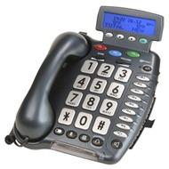 geemarc CL400 Verstärkertelefon mit Hoch-/ Tieftonregelung und Rufnummernanzeige