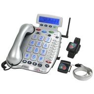 geemarc CL600 Verstärkertelefon mit Hoch-/ Tieftonregelung und Notruffunktion