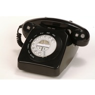 geemarc Mayfair Retrotelefon, schwarz