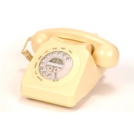 geemarc Mayfair Retrotelefon, creme