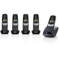 Gigaset C620 Penta (5 Mobilteile), schwarz