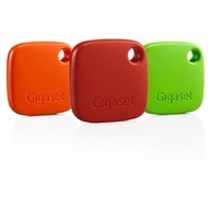 Gigaset G-Tag 3-er Pack rot, orange, grün