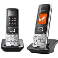 Gigaset S850HX Duo, platin/ schwarz