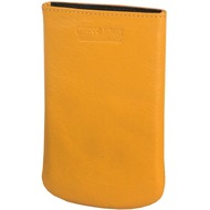 Greenburry Spongy iPhone4, iPhone4S Handytasche Leder 7,5 cm yellow