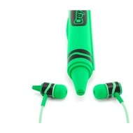 Griffin Crayola Earbuds Headphones,Carribean Green