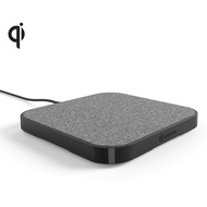 Griffin PowerBlock Wireless Charging Pad 15W  Qi  grau/ schwarz