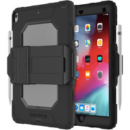 Griffin Survivor All-Terrain Case mit Kickstand, Apple iPad Air 2019/ iPad Pro 10,5, schwz, GIPD-007-BLK