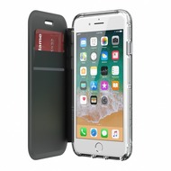 Griffin Survivor Clear Wallet, Apple iPhone 8 Plus/ 7 Plus/ 6S Plus, schwarz/ transparent, TA43988