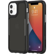 Griffin Survivor Endurance Case, Apple iPhone 12 mini, schwarz/ grau/ smoke, GIP-054-BKG