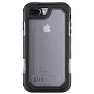 Griffin Survivor Extreme Case, Apple iPhone 8/ 7/ 6S Plus, schwarz/ transparent