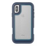 Griffin Survivor Extreme Case, Apple iPhone X, blau/ hellblau