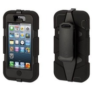 Griffin Survivor f�r iPhone 5, schwarz