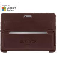 Griffin Survivor Slim Case  Microsoft Surface Pro (2017)  rot (burgundy)