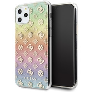 Guess 4G Peony Iridescent Case - Apple iPhone 11 Pro Max - Mehrfarbig - Cover - Schutzhülle - Hard Case