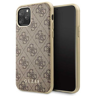 Guess Charms - 4G - Apple iPhone 11 Pro Max - Braun - Schutzhülle - Case - Hard cover