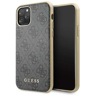 Guess Charms - 4G - Apple iPhone 11 Pro Max - Grau - Schutzhülle - Hard cover - Case