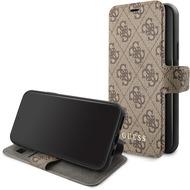 Guess Charms - Apple iPhone 11 - Braun - Ledertasche Handyhülle Schutzhülle Handyhülle