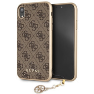 Guess Charms - Hardcover 4G - Apple iPhone 6.1 XR - Braun
