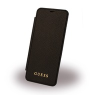 Guess IriDescent - Book Cover - Samsung G955F Galaxy S8 Plus - Schwarz