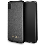 Guess Iridescent - Hardcover - Apple iPhone 6.5 XS Max - Schwarz