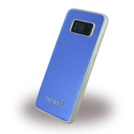 Guess IriDescent - Hardcover - Samsung G950F Galaxy S8 - Blau