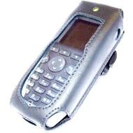 HACO Ledertasche für Ascom d81 /  Avaya 3749, 3740 /  Mitel DT413, DT423, DT433