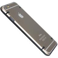 Hart Cover/ Case/ Schutzhülle - Apple iPhone 6 - Transparent Schwarz