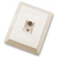 HDK ISDN-Anschlussdose 6(4) (einfach), Aufputz