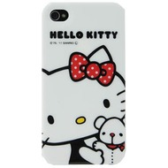 Hello Kitty Character Case Friends für iPhone 4 /  4S, weiß