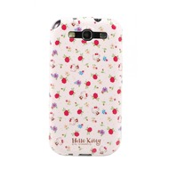 Hello Kitty Character Case Garden für Samsung Galaxy S3, rosa