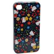 Hello Kitty Character Case Garden für iPhone 4 /  4S, schwarz