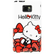 Hello Kitty Character Case Ribbons für Samsung i9100 Galaxy S2, weiß