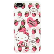 Hello Kitty Character Case Strawberry für iPhone 4/ 4S