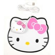 Hello Kitty Optische Maus mit Mauspad, USB, für PC und Mac