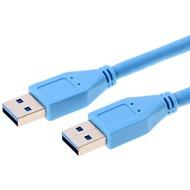 Helos USB 3.0 Kabel Stecker A auf Stecker A, 3,0 m