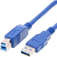 Helos USB 3.0 Kabel Stecker A auf Stecker B, 3,0 m
