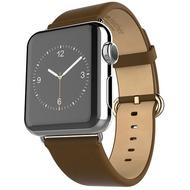 HOCO Genuine Leather Armband für Apple Watch 38mm, khaki