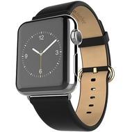 HOCO Genuine Leather Armband für Apple Watch 38mm, schwarz
