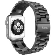 HOCO Stainless Steel Armband für Apple Watch 38mm, schwarz