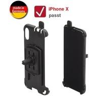 HR Auto-Comfort KFZ Auto Lüftungshalterung für Apple iPhone X (drehbar), schwarz